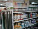 Farbe Regal, Sonderposten Industriefarbe, Farben-Kienzle